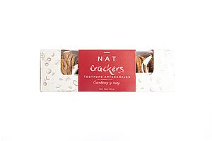 NAT CRACKERS CRANBEERRY Y NUEZ